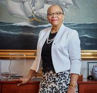 """Shipping is indispensable to world trade, it is indispensable to the daily lives of people. This is a wake-up call about the important role that seafarers play."" Dr. Cleopatra Doumbia-Henry, President, World Maritime University Photo: © Christoffer Lomfors"