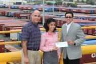 Sholarship award: Photo credit Crowley Maritime Corp.