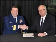 Signing Ceremony: Photo credit PVA