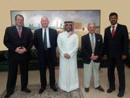 Signing Ceremony in Doha: Photo credit SCI