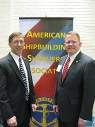 Sec. Stackley and ASSA's Rick Hepburn