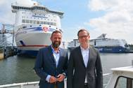 State secretary visitis the port of Kiel (Photo: Port od Kiel)