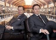 Svein Moxnes Harfjeld, (right) and Trygve P. Munthe (left). (Photo courtesy of DHT Holdings)