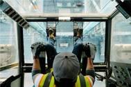 APM Terminals Bahrain crane operator Courtesy APM