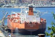 Trader Unipec's Olympic Fighter was due to load the one million barrel cargo, according to a local shipping agent./ Image by: Claudio Ritossa - MarineTraffic.com (file photo)