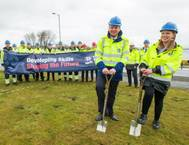 Training Academy Turf Cutting Photo Forth Ports
