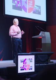 Transas CEO Frank Coles opened the Transas Simulation User Conference in Singapore.