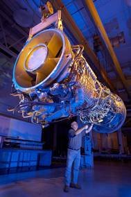 Gas Turbine Engine LM2500+G4: Photo credit GE