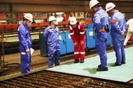 正在进行的IMOIMEMAX Methanol-Flowed 49,900 DWT船Stena Pro Patria的工作。照片:Stena Bulk
