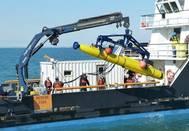 Unmanned Underwater Vehicle (UUV): Photo credit Bluefin Robotics