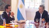 DP World Group Chairman and CEO Meets President of Argentina and underlines importance of DP World investments in the country - $250 million dollars in the last 20 years Photo DP World