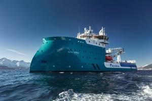 Acta-Auriga-on-sea-trial Photo Ulstein Group