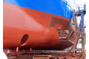 Frost  & Sullivan said shipbuilders and dry-docking companies should work with marine coatings specialists to ensure that high-performance, environmentally-sustainable marine coatings that can protect the environment and increase fuel efficiencies are developed for use in the maritime sector. Photo: © helenedevun/Adobe Stock