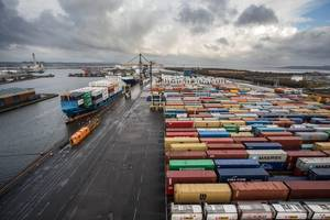 Port of grangemouth terminal (Photo: Forth Ports)