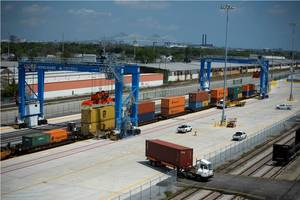 IntermodaYard Complete Courtesy Port of New Orleans