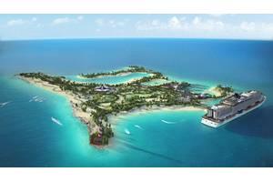 Ocean Cay (Artist's rendering of the MSC custom built island, the Ocean Cay MSC Marine Reserve.)