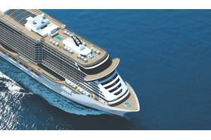 The MSC Seaside, first of the MSC Seaside class to sail from PortMiami. (Credit: MSC)