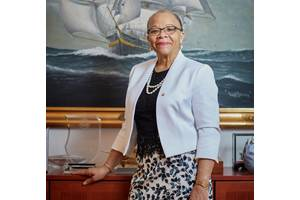 """""""Shipping is indispensable to world trade, it is indispensable to the daily lives of people. This is a wake-up call about the important role that seafarers play."""" Dr. Cleopatra Doumbia-Henry, President, World Maritime University Photo: © Christoffer Lomfors"""