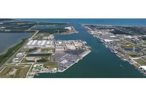 The GTT USA Terminal at Port Canaveral. FL
