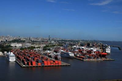 Photo: Port of Buenos Aires