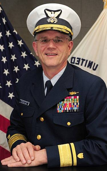 Rear Admiral William D. Baumgartner: Photo credit USCG