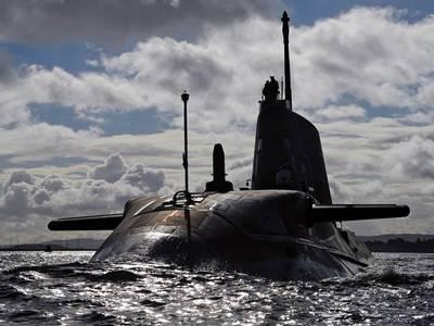 HMS Ambush: Photo credit MOD