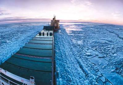 Arctic scene: Photo courtesy of UK Govt.
