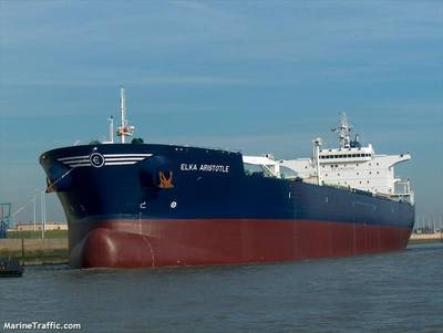 The M/V ELKA ARISTOTLE (Credit: © MarineTraffic.com)
