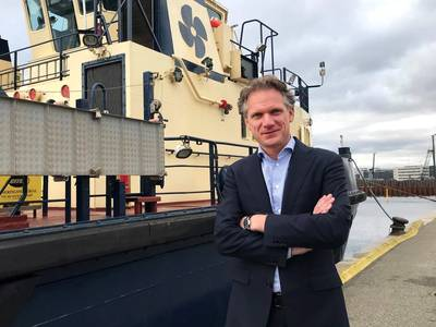 Arjen Van Dijk (Photo: Svitzer)