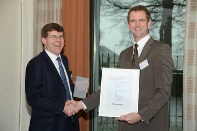 Award Presentation: Photo credit Rolls-Royce