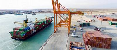 Basra Gateway Terminal. Photo: ICTSI