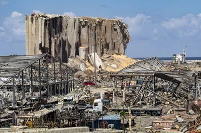 Beirut port after the explosion - Credit: Ali/AdobeStock