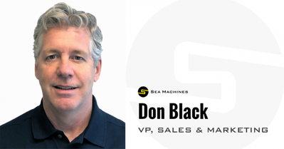 Don Black (Photo: Sea Machines Robotics)