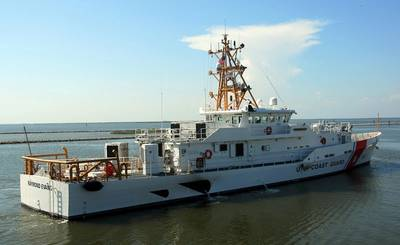 Bollinger delivered the 10th Fast Response Cutter, Raymond Evans, to the U.S. Coast Guard on June 25, 2014. (Photo courtesy of Bollinger)