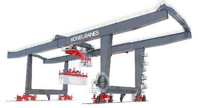 Boxporter RMG (Photo: Konecranes)