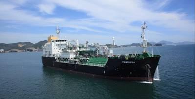 LNG bunkerschip Cardissa. Photo: Royal Dutch Shell Group