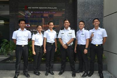 Cadets from THOME Group's training program (Photo courtesy of THOME Group)