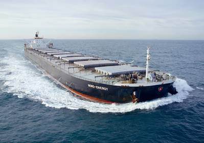 Capesize dry bulk vessel Nord Power (File photo: Dennis Schnell, Bulldog and Partners / Dampskibsselskabet NORDEN A/S)