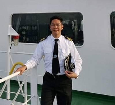 Captain Liel Gonzales. Photo courtesy NYK-FILShip Management Inc.