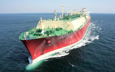 LNG carrier Al Kharaitiyat (Photo: Nakilat)
