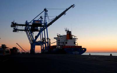 A bulk carrrier docked: File photo CCL