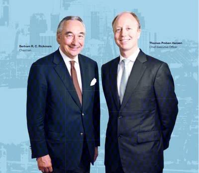 Chairman & CFO: Image courtesy of Rickmers Maritime