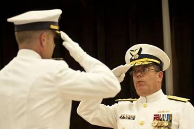 Change of Command Ceremony: Photo courtesy of USCG