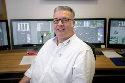 Ken Chapman Senior Instructor, Maersk Training. Photo courtesy Maersk Training