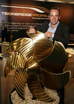 Chris Stokes, General Manager, Middle East, Teignbridge Propellers.