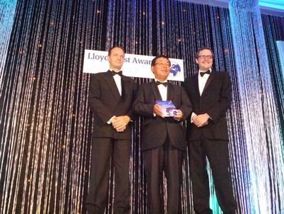 Class NK Award Presentation: Photo credit Lloyds List