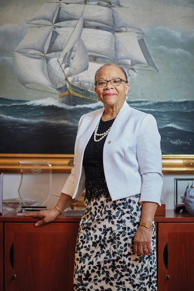 Dr Cleopatra Doumbia-Henry, WMU's President