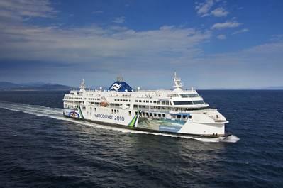 Coastal Inspiration (Photo courtesy of BC Ferries)