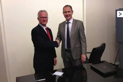 Contract Signing: Photo credit Heerema Fabrication Group