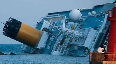 Costa Concordia Wreck: Photo credit CCL Roberto Vongher